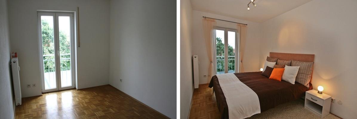 2 zi whg hallbergmoos leer immostyling home staging agentur. Black Bedroom Furniture Sets. Home Design Ideas