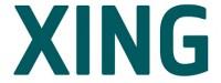Logo mit Link zu XING